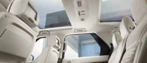 Rover interior