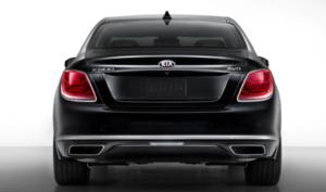 kia k900 trunk