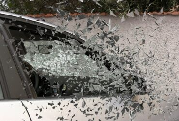 car window damage