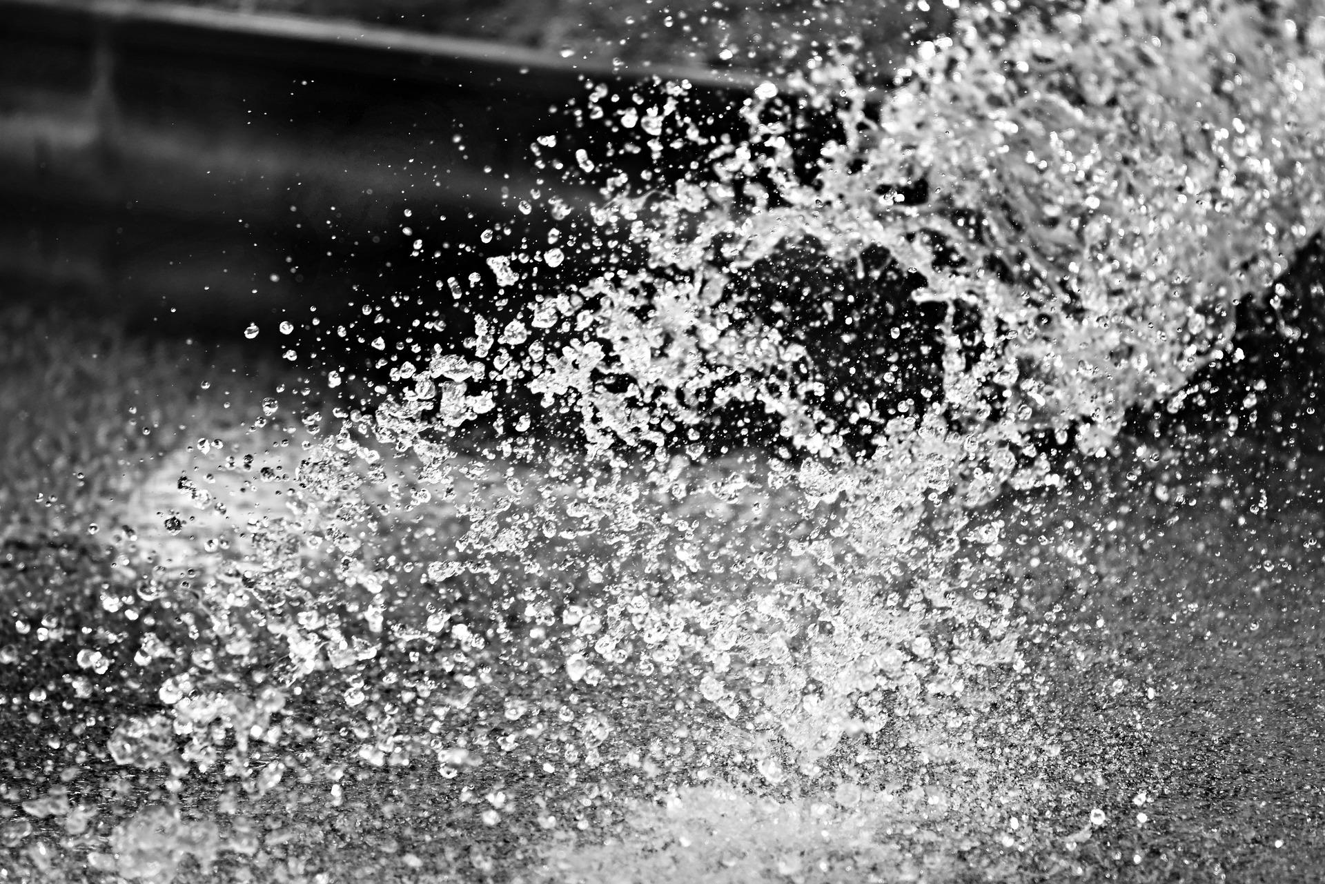 water splatter